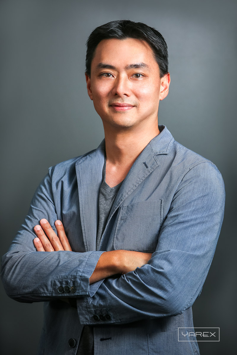 Portrait of Grab executive